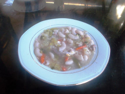 Macaroni Vegetable Soup.