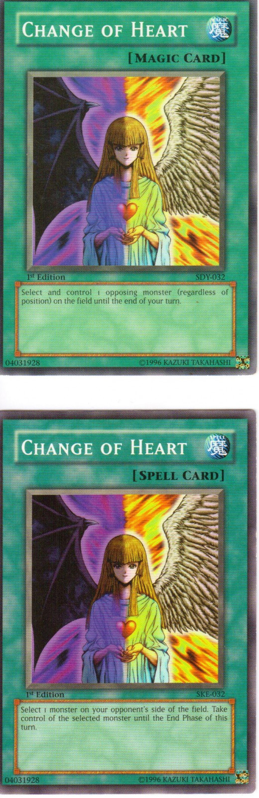 Spell card and Magic card versions of the same card