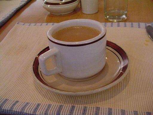 Warming hot drink