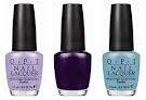 OPI You're Such A Budapest; Vant To Bite My Neck?; Can't Find My Czechbook