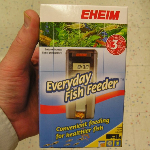 The EHEIM Everyday Fish Feeder is a very popular automatic fish feeder.