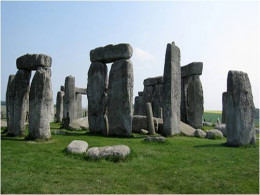 Stonehenge, county of Wilshire, England.  Stones made from the same material as the Blarney Stone.