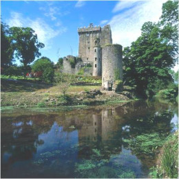 The very beautiful Blarney Castle