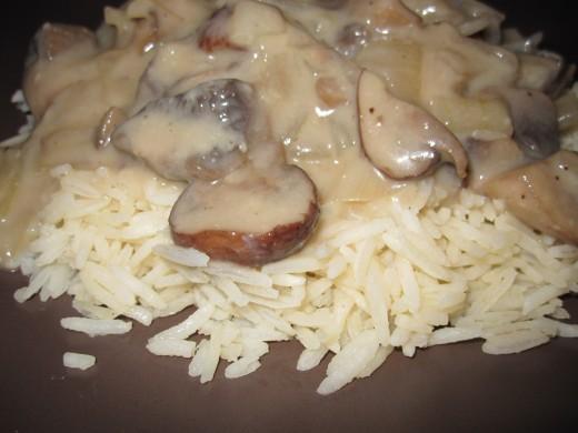 Vegetarian Mushroom Dijon