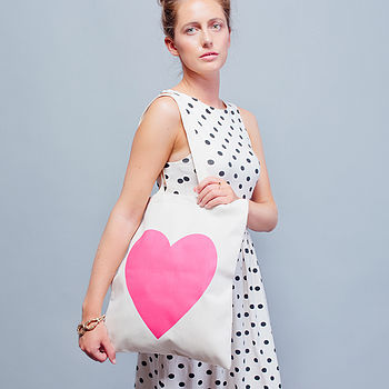 Heart Tote Bag