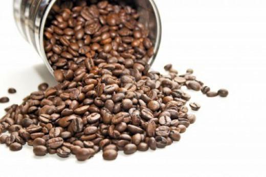 Coffee beans work good!