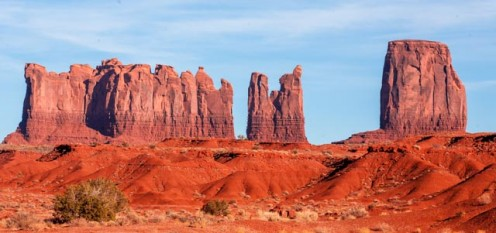 Monument Valley in November
