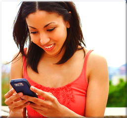 Today an average person sends over 250 SMSs per month, while a teenagers sends more than 3500 texts per month