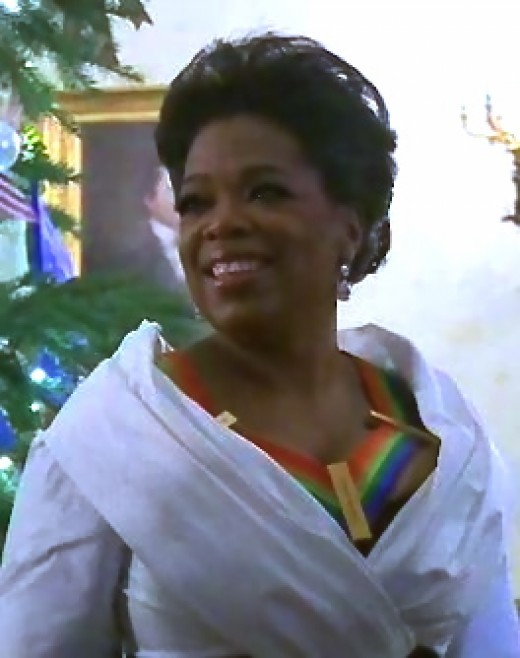 Oprah Winfrey at Kennedy Center Honorees, 2010. Oprah demonstrates all four types of leadership.