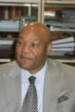 George Foreman retired heavyweight boxing champion