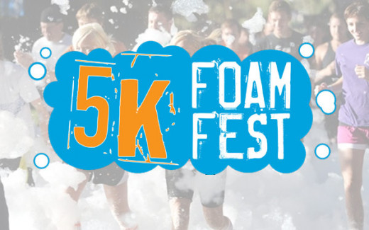 5k Foam Fest!  Get good an sudsy!