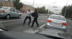 Russian road rage videos