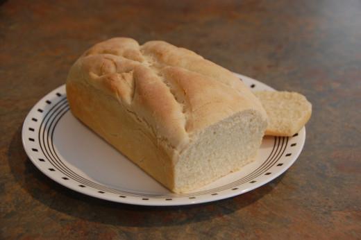 Fantastic homemade sourdough bread