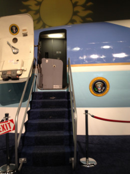 Air Force One was a great experience and thrilling tour.