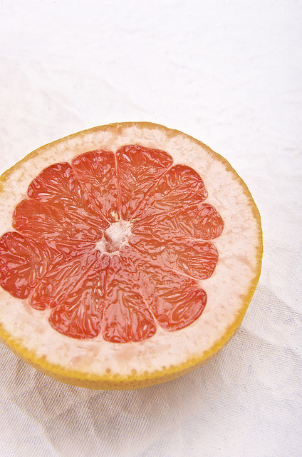 Grapefruit may have qualities that promote weight loss.