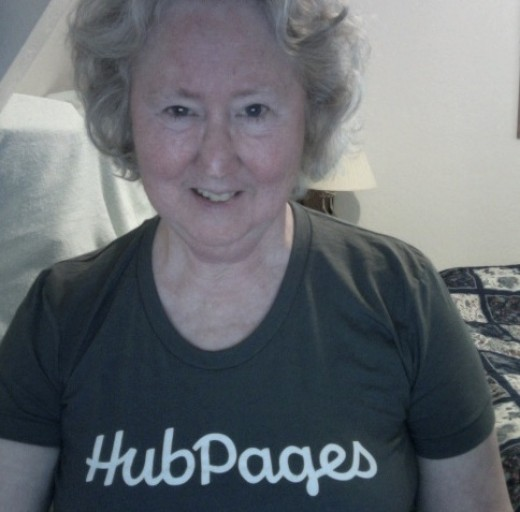 I took this picture with my web cam after HubPages sent it after one of my hubs was chosen as Hub Of the Day