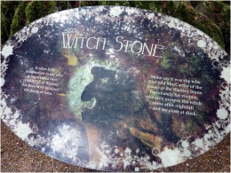 """Witch Stone"" tells a brief story (legend) of the Goddess who told Cormac to kiss the first stone he saw."