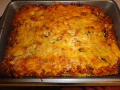 Healthy Vegetarian Tofu Lasagna
