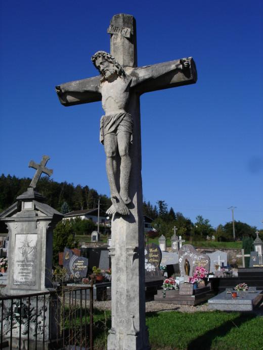 Croix du cimetière de Bertrichamps/Cross at Bertrichamps cemetery