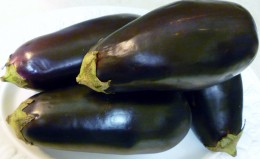 Eggplants (also known as Aubergine)