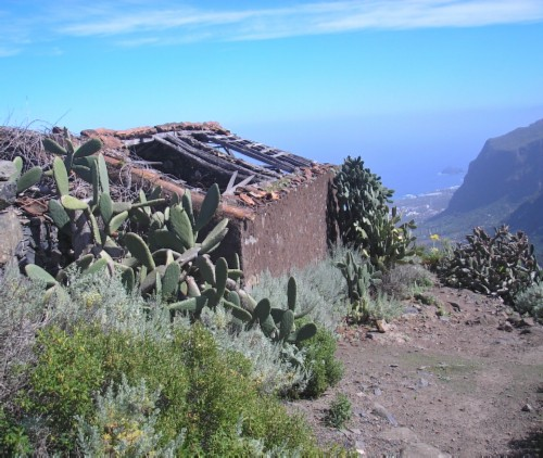 Ruined building in Talavera