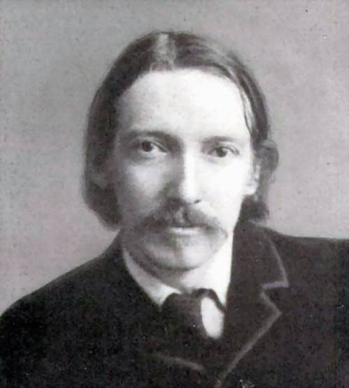 Robert Louis Stevenson - portrait