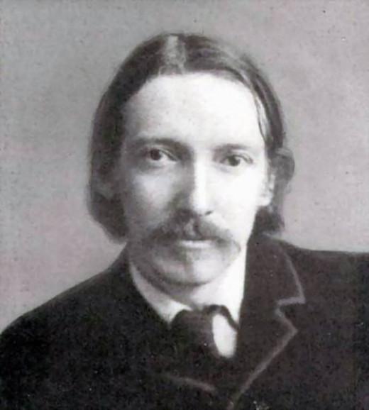 Robert Louis Stevenson - portrait