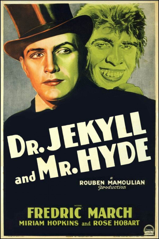 Dr. Jekyll and Mr. Hyde (1932) poster