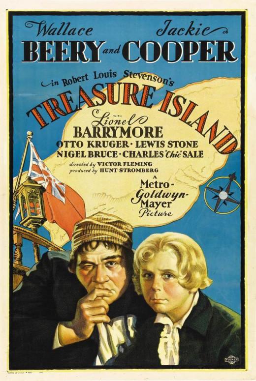 Treasure Island (1934) poster