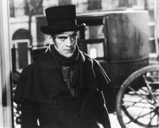 Boris Karloff in The Body Snatcher (1945)