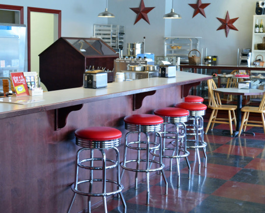 Goody's gives you the old time feel of the old soda fountain days.