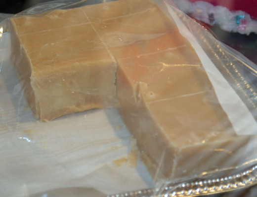 Try one of many flavors of homemade fudge.