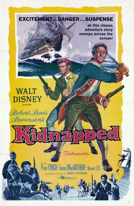 Kidnapped (1960) poster
