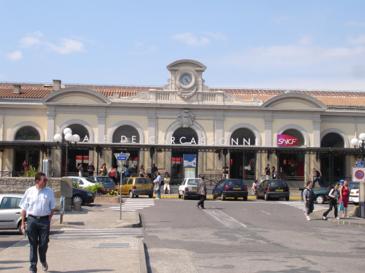 Carcassonne railroad station