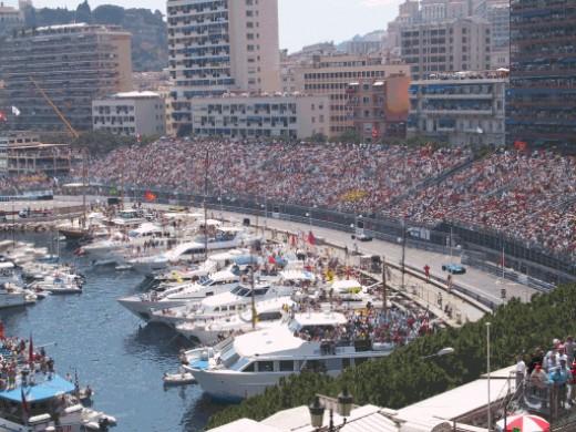 The luxury Monaco port