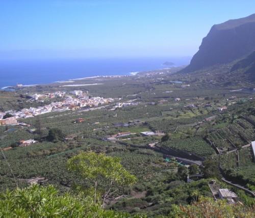 View from Talavera over the coastal plain