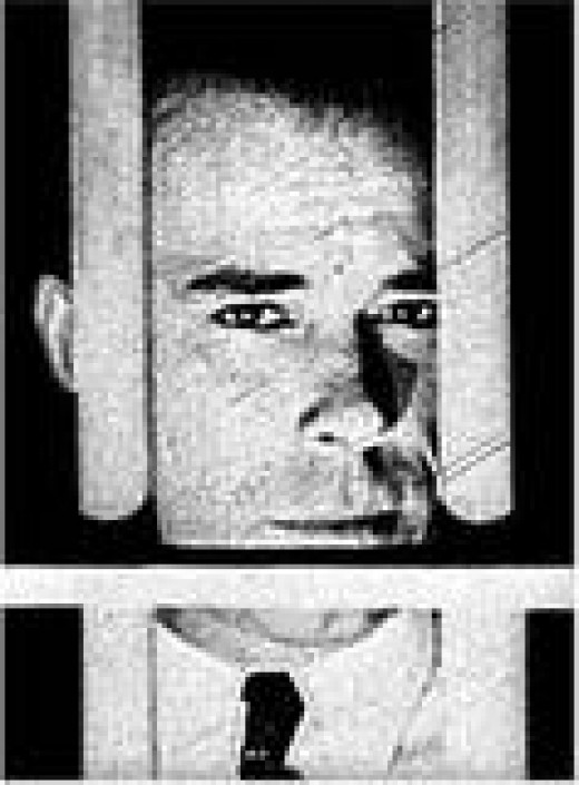 John Dillinger Behind Bars
