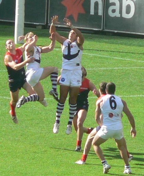 Australian Rules Football is a popular sport in Australia