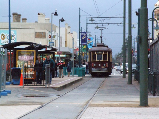 A street in Adelaide, Australia