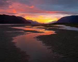 The Gorge at Sunset