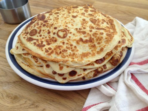 Stack of Swedish Pancakes