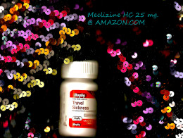 Meclizine HC 25 mg./can be ordered from Amazon. com.