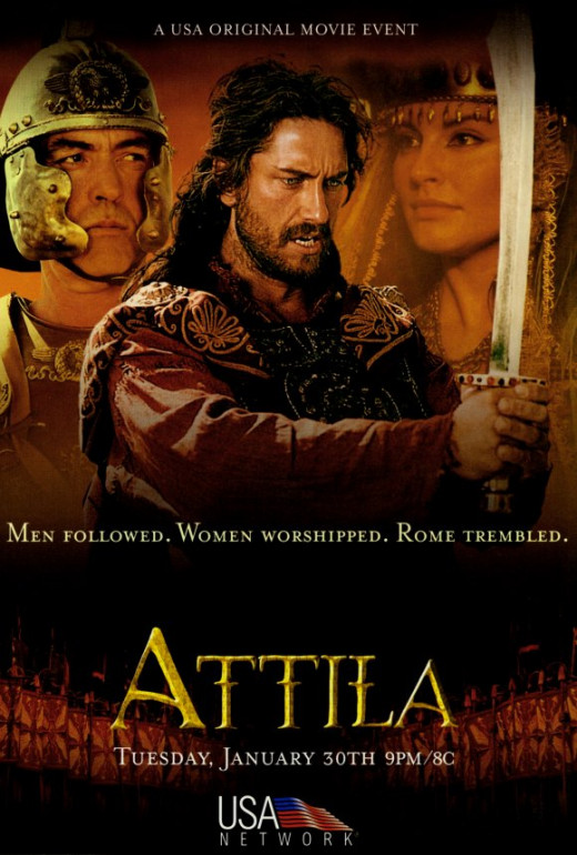 Gerard Butler as Attila