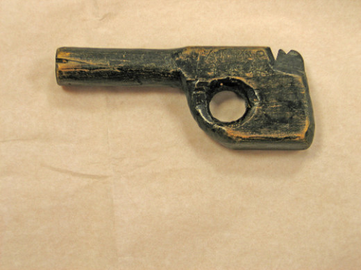 Dillinger's wooden gun used to escape Crown Point