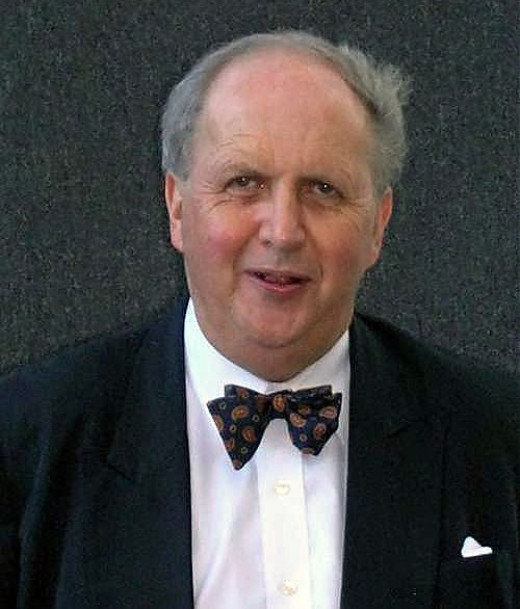 Alexander McCall Smith. Source: Wikimedia Commons, TimDuncan CC BY 3.0.