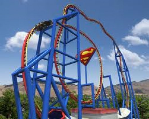 This is how the rollercoaster looks like.