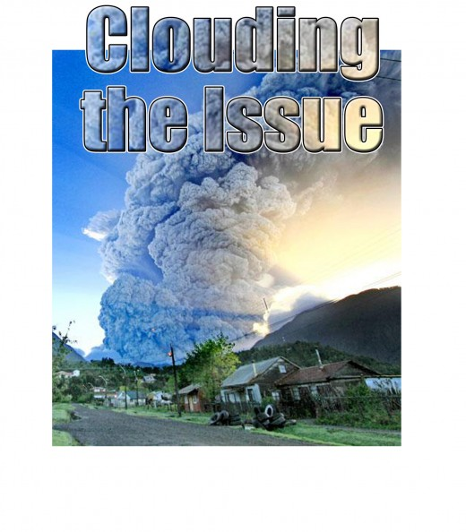Clouding the issue is the censorship of links between volcanic activity, earthquakes and floods and the true reasons for them.