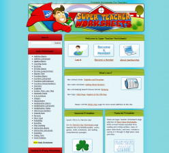 This is a screenshot of the site, Super Teacher Worksheets, which I highly recommend.
