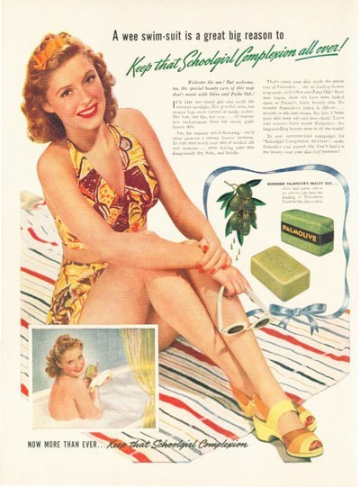 vintage swim suite advertisement