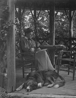 Photograph taken by her husband James Osbourne.